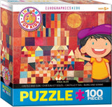 Paul Klee - Castle and Sun - 100 Piece Jigsaw Puzzle