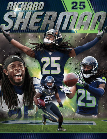 NFL Seattle Seahawks - Richard Sherman - 100 Piece Jigsaw Puzzle