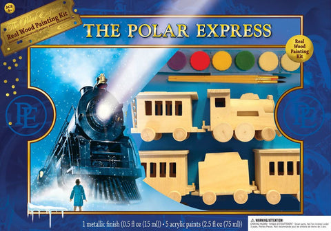 The Polar Express Train - Wood Painting Kit