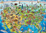 North America Map - 100 Piece Jigsaw Puzzle