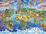 World Map - 100 Piece Jigsaw Puzzle
