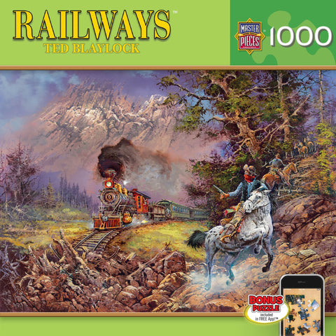 Holdup on # 9 - 1000 Piece Jigsaw Puzzle