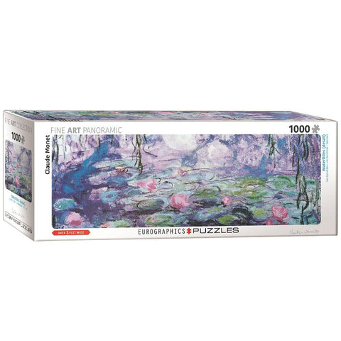 Water Lilies - Claude Monet - 1000 Piece Jigsaw Puzzle