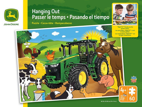 John Deere - Hanging Out - 60 Piece Jigsaw Puzzle