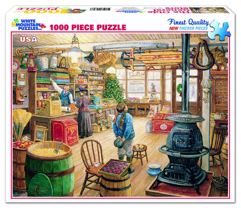 THE OLDE GENERAL STORE - 1000 Piece Jigsaw Puzzle