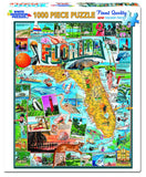 Jigsaw Puzzle Front Box Image - 1000 pc Florida State Map