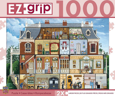 Upstairs Downstairs - 1000 Piece EZ Grip Jigsaw Puzzle
