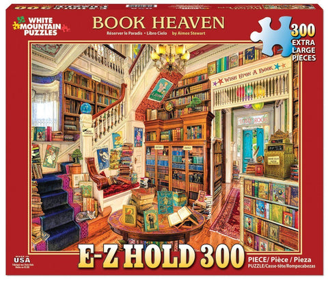 Book Heaven - 300 Piece EZ Grip Jigsaw Puzzle