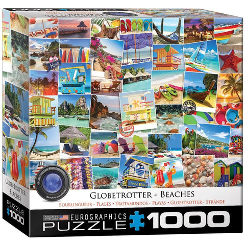 Globetrotter - Beaches - 1000 Piece Jigsaw Puzzle