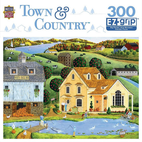 Town & Country - White Duck Inn - 300 Piece EZ Grip Jigsaw Puzzle
