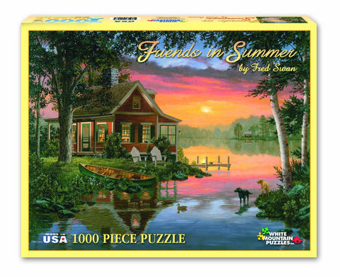 FRIENDS IN SUMMER - 1000 Piece Jigsaw Puzzle