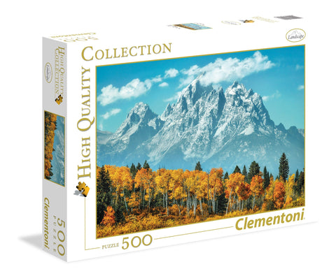 Grand Teton in Fall - 500 Piece Jigsaw Puzzle