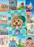 Gary Patterson - Dog's Life - 500 Piece Jigsaw Puzzle