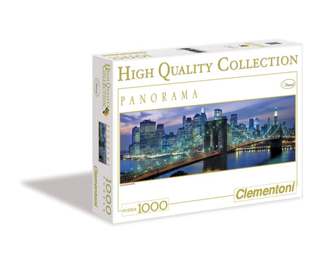 New York Brooklyn Bridge - 1000 Piece Panorama Jigsaw Puzzle