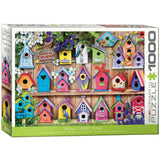 Home Tweet Home Birdhouses - 1000 Piece Jigsaw Puzzle