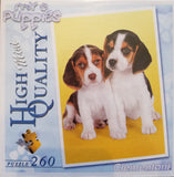 My Puppies - 260 Piece Jigsaw Puzzle