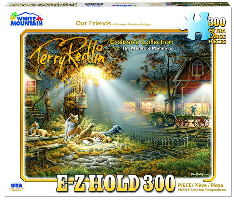 Our Friends - 300 Piece EZ Grip Jigsaw Puzzle