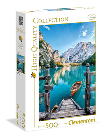 Braies Lake - 500 Piece Jigsaw Puzzle