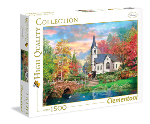 Colorful Autumn - 1500 Piece Jigsaw Puzzle