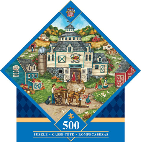 Bartletts' Apple Orchard - 500 Piece Jigsaw Puzzle