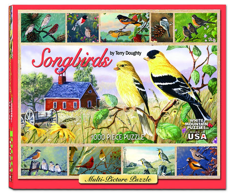SONGBIRDS - 1000 Piece Jigsaw Puzzle