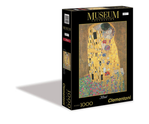 Gustav Klimt - The Kiss - 1000 Piece Jigsaw Puzzle
