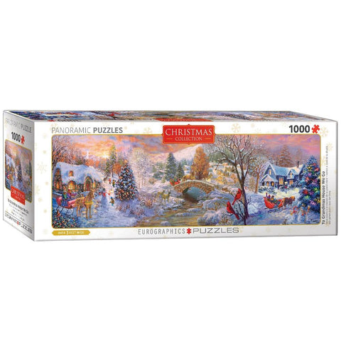 Christmas Collection - To Grandma's House We Go - 1000 Piece Jigsaw Puzzle