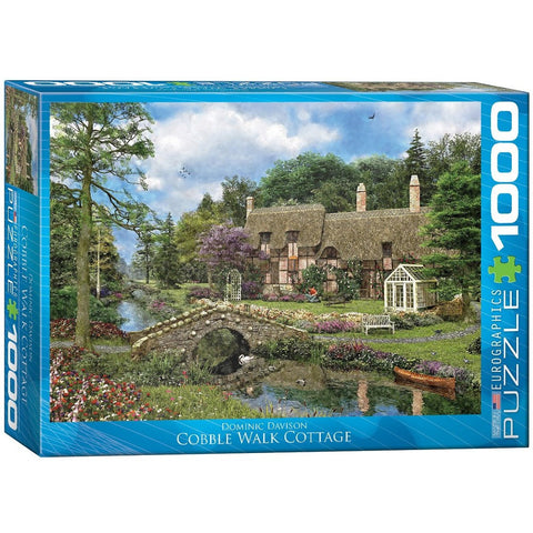 Cobble Walk Cottage - 1000 Piece Jigsaw Puzzle