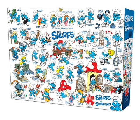 The Smurfs - Feelin' Smurfy - 1000 Piece Jigsaw Puzzle