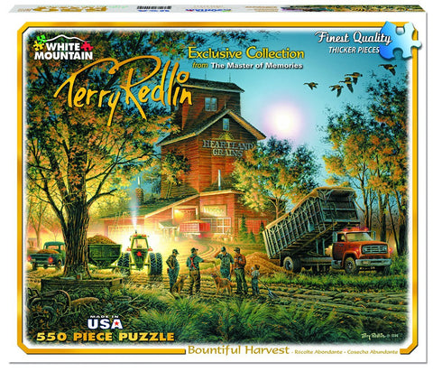 Bountiful Harvest - 550 Piece Jigsaw Puzzle