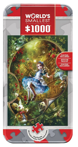Alice in Wonderland - 1000 Piece World's Smallest Jigsaw Puzzle