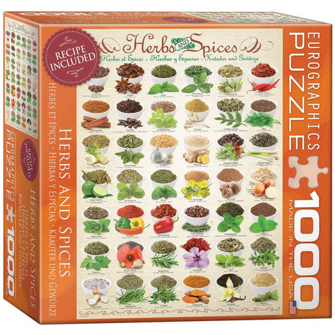 Herbs and Spieces - 1000 Piece Jigsaw Puzzle