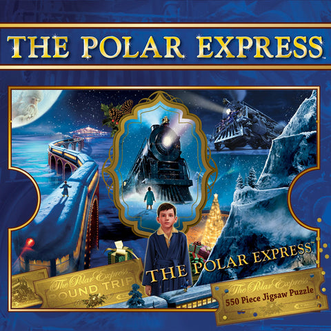 The Polar Express - 550 Piece Jigsaw Puzzle