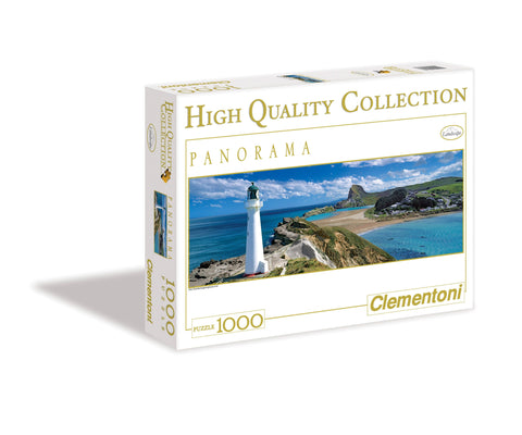 New Zealand Lighthouse - 1000 Piece Panorama Jigsaw Puzzle