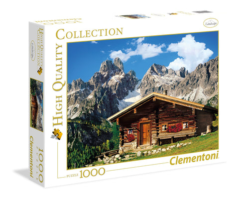 Austria The Mountain House - 1000 Piece Jigsaw Puzzle