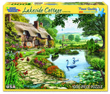 LAKESIDE COTTAGE - 1000 Piece Jigsaw Puzzle