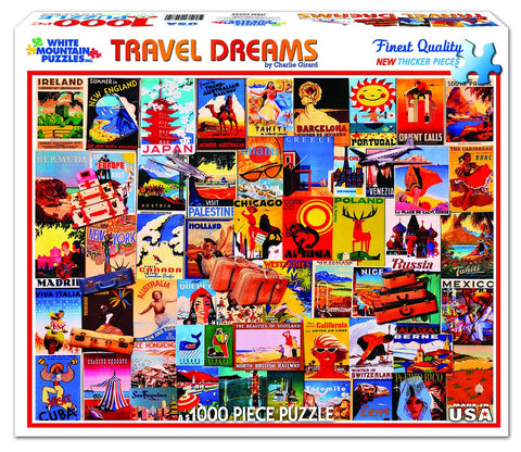TRAVEL DREAMS - 1000 Piece Jigsaw Puzzle