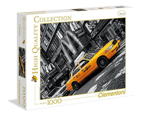 New York Taxi - 1000 Piece Jigsaw Puzzle