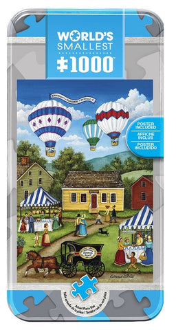 Blueberry Festival - 1000 Piece World's Smallest Jigsaw Puzzle