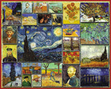 Jigsaw Puzzle Image - 1000 piece collage of great painters artwork
