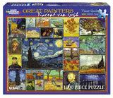 Jigsaw Puzzle Front Box Image - 1000 pc Vincent Van Gogh Collage of Paintings