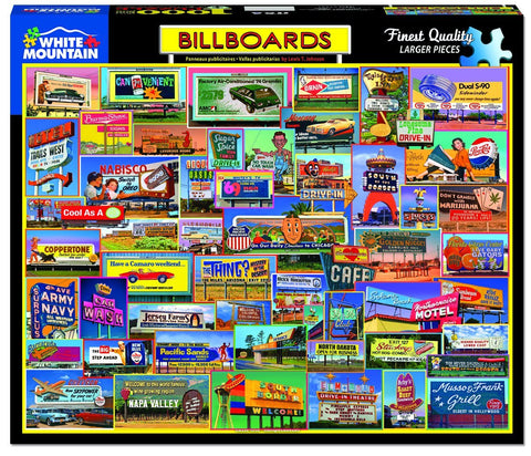 Billboards - 1000 Piece Jigsaw Puzzle