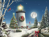 Jigsaw Puzzle Image - 550 pc Christmas Scenery
