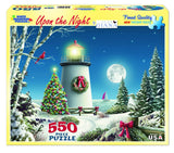 UPON THE NIGHT - 550 Piece Jigsaw Puzzle