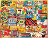 Jigsaw Puzzle Image - 1000 pc variety of board games