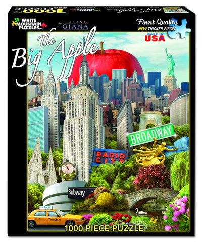 THE BIG APPLE - 1000 Piece Jigsaw Puzzle