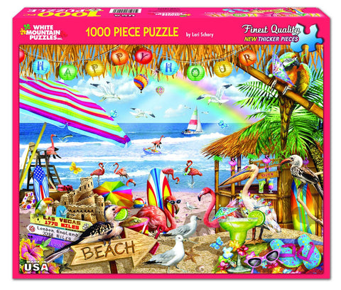 HAPPY HOUR - 1000 Piece Jigsaw Puzzle