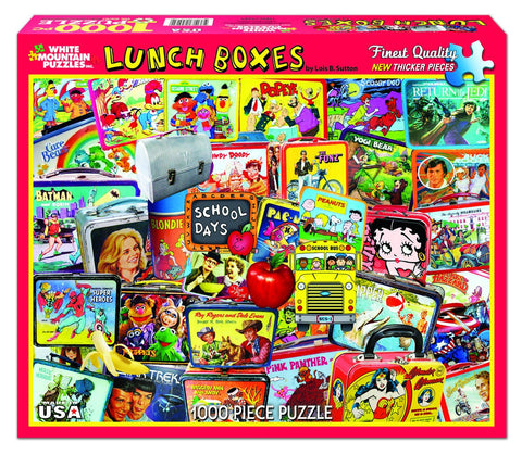LUNCH BOXES - 1000 Piece Jigsaw Puzzle