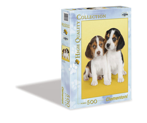Nice Beagles - 500 Piece Jigsaw Puzzle