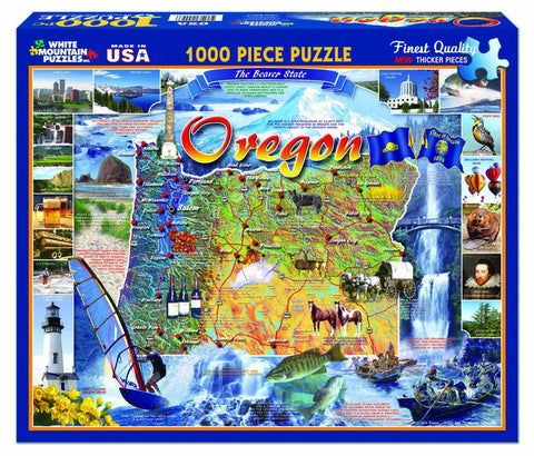OREGON STATE - 1000 Piece Jigsaw Puzzle